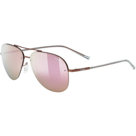 UVEX LGL 40 Okulary, purple/mirror pink
